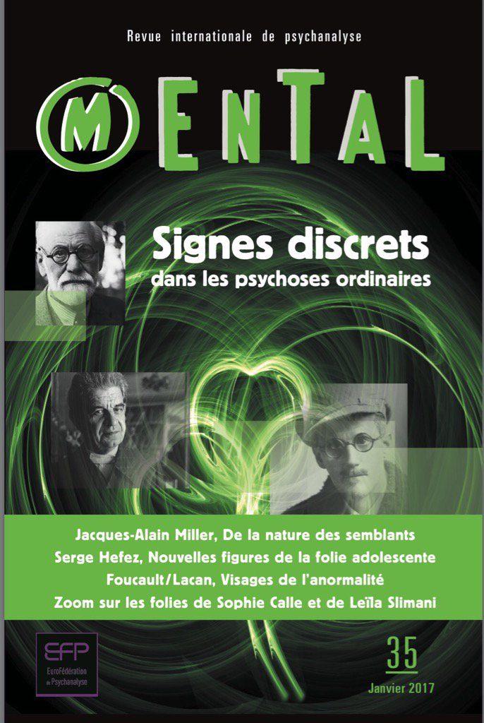 Mental n°35 – Signes discrets dans les psychoses ordinaires