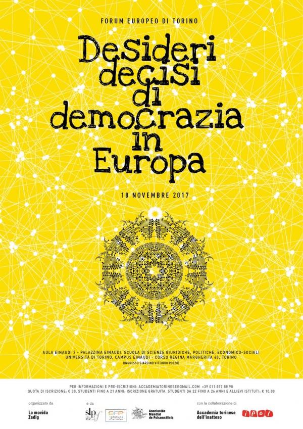 Forum : Désirs décidés pour la démocratie en Europe
